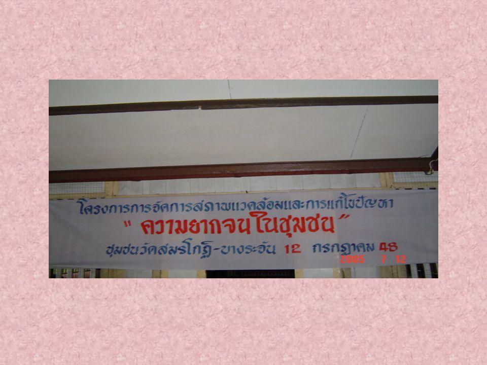 สำนักงานเขตตลิ่งชันร่วมกับผู้นำ ชุมชน ร่วมประชาสัมพันธ์โครงการ เชิญชวนประชาชนเปิดเวทีสาธารณะ
