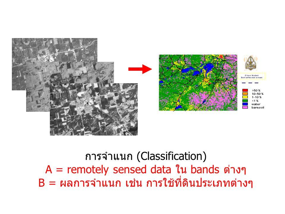 การวิเคราะห์ข้อมูล Data Processing & Analysis  การจำแนกข้อมูล (Classification)