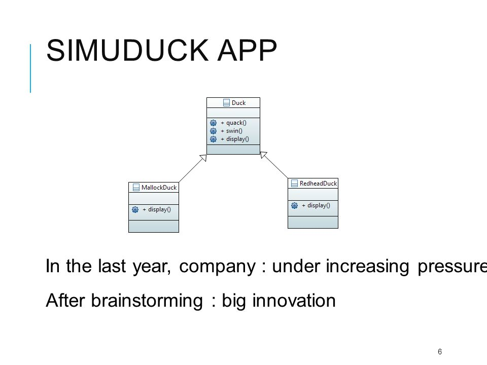SIMUDUCK APP 7 The Answer : Flying duck executive : flying duck can blow away from duck competitors