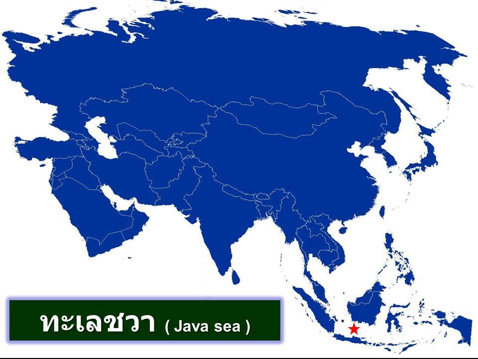 ทะเลชวา ( Java sea )