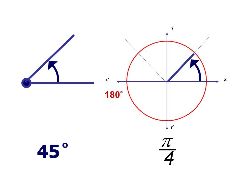 x x' y' y 45 ̊ 180 ̊