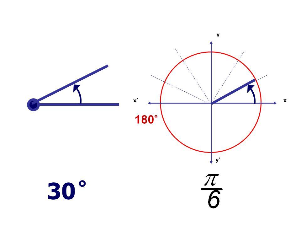 x x' y' y 30 ̊ 180 ̊