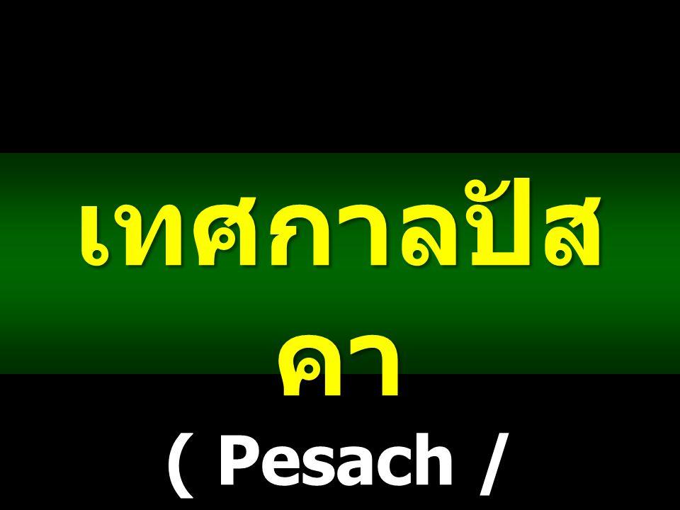 เทศกาลปัส คา ( Pesach / Passover )