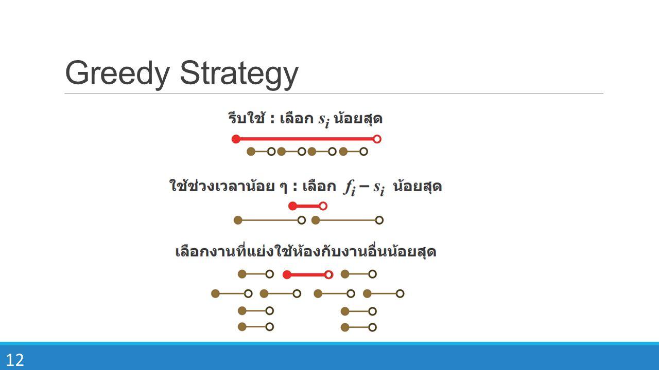 12 Greedy Strategy