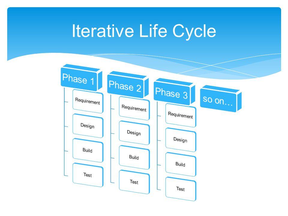 Iterative Life Cycle