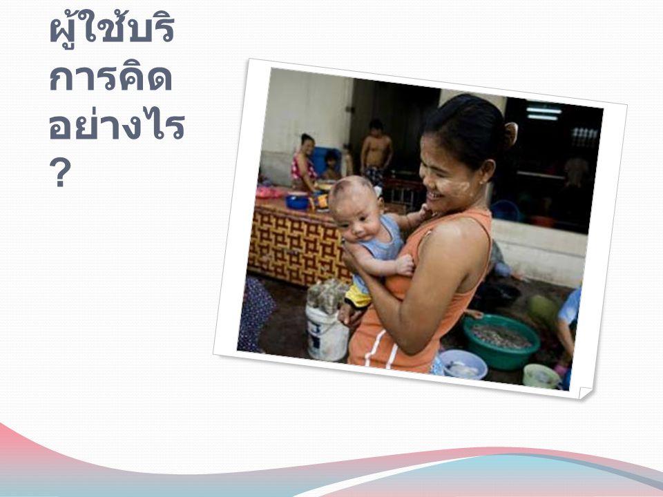 เสียงสะท้อนจากผู้ใช้บริการ-1 เห็นด้วยกับการแยกบางแผนกกับคน ไทย แต่ควรมีล่ามประจำ พอใจกับการจัดบริการเชิงรุกในช่วง เทศกาลหรือช่วงทีสะดวก เชื่อมั่นในคุณภาพการดูแลรักษาไทย หากมีแพทย์จากประเทศตนเองก็รู้สึก อุ่นใจเพราะคุยกันเข้าใจ ต้องการใช้สถานบริการใกล้บ้าน บริการไม่ซับซ้อน มั่นใจ กล้าใช้ ถ้า ใช้ประกันสุขภาพได้ก็จะดียิ่งขึ้น อยากให้มียาสามัญ ยาคุมฯ ถุงยางที่ Drop-in Center health Post