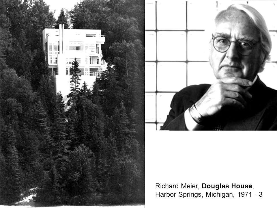 Richard Meier, Douglas House, Harbor Springs, Michigan, 1971 - 3