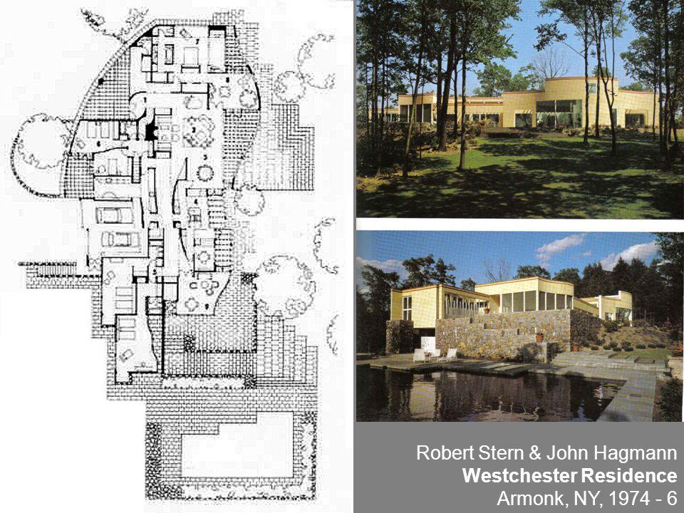 Robert Stern & John Hagmann Westchester Residence Armonk, NY, 1974 - 6