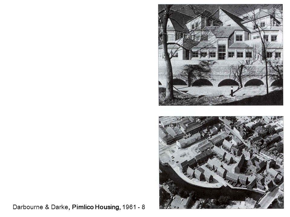 Darbourne & Darke, Pimlico Housing, 1961 - 8