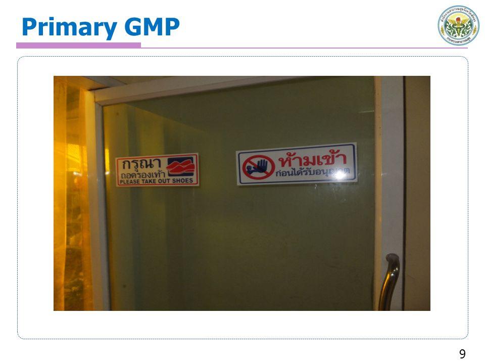 Primary GMP 9