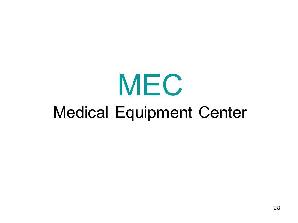 28 MEC Medical Equipment Center