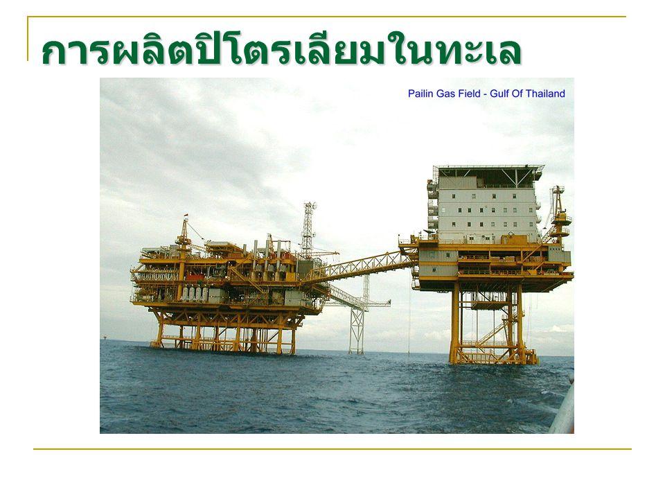 การผลิตปิโตรเลียมในทะเล