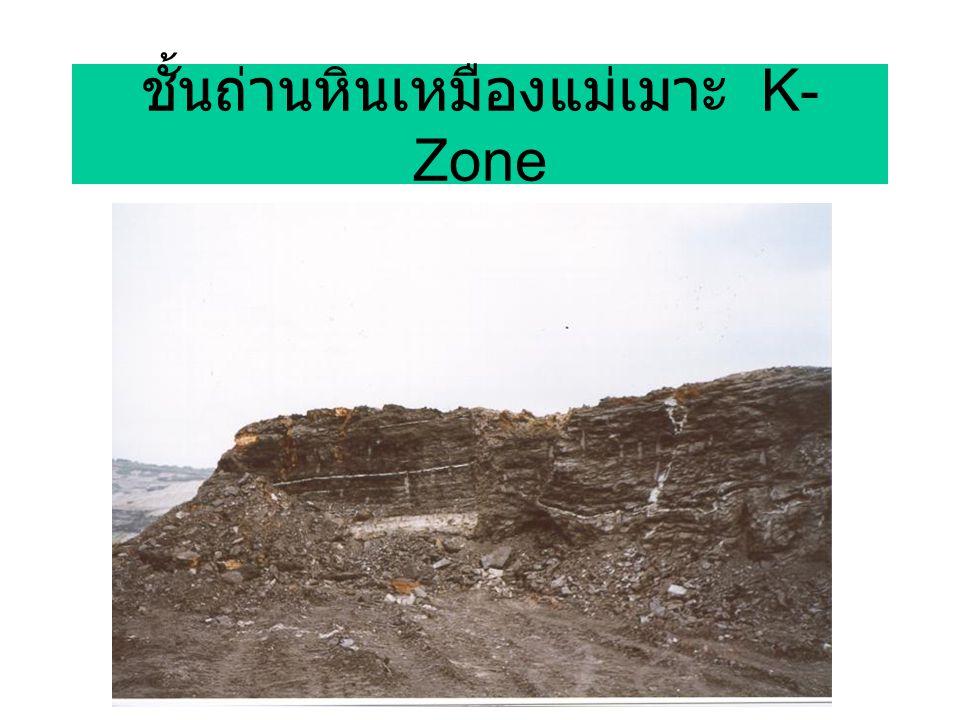 ชั้นถ่านหินเหมืองแม่เมาะ K- Zone