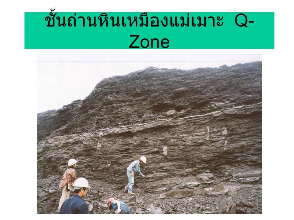 ชั้นถ่านหินเหมืองแม่เมาะ Q- Zone