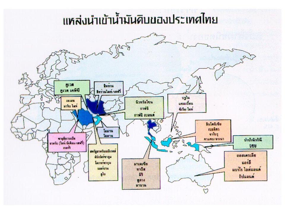 แหล่ง เชื้อเพลิง ธรรมชาติใน ประเทศไทย ส่วนใหญ่อยู่ ใน แอ่งเทอร์เชีย รี