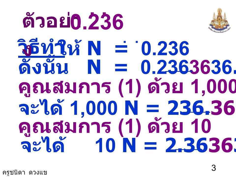 2 จำนวนตรรกยะ คือจำนวนที่เขียนแทน ได้ในรูปเศษส่วน เมื่อ a และ b เป็น จำนวนเต็มที่ b ≠ 0 b a