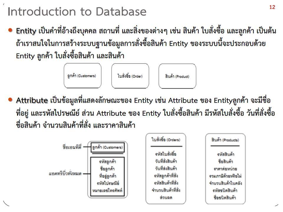  VARCHAR : สำหรับเก็บข้อมูลประเภทตัวอักษร กำหนดค่าได้ตั้งแต่ 1 - 255 เหมาะสำหรับการเก็บข้อมูลสั้นๆ เช่น ชื่อ นามสกุล หรือ หัวข้อต่างๆ เป็นต้น...