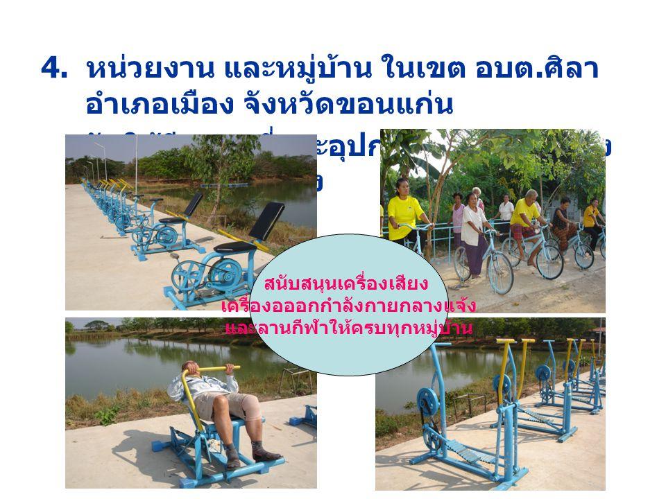 จัดนิทรรศการคนไทยไร้พุงในงานบุปผ ชาติตำบลศิลา วันที่ 19-21 กุมภาพันธ์ 2552