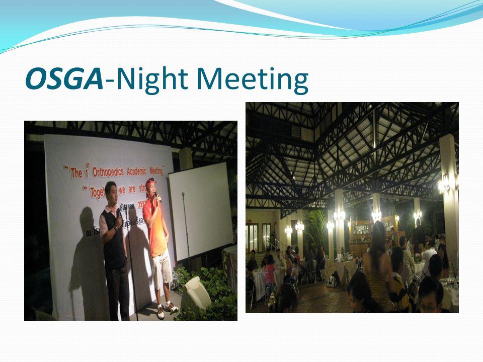 OSGA-Night Meeting