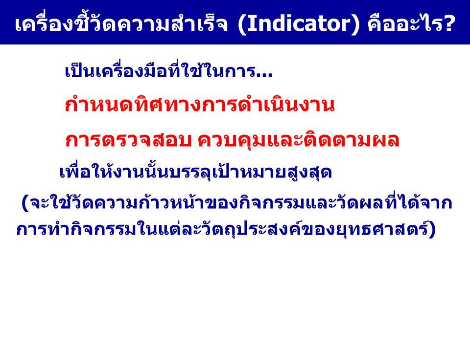 เป้าประสงค์ ของ ยุทธศาสตร์ (1) กลยุทธ์ สำคัญ (2) กิจกรรม สำคัญ (3) มาตรการทาง วิชาการ (วิธีทำ/ กระบวน/ เทคนิค อย่างไร) (4) ตัวชี้วัด ผลงาน(การ กระทำ)(PI) (5) ตัวชี้วัด ผลสำเร็จ (KPI) 1 ตัวต่อ 1เป้าประสงค์ ของยุทธศาสตร์ (6) ตัวชี้วัด ผลลัพธ์ (KRI) (7) การเฝ้าระวังโรค ไข้หวัดนกในชุมชน 1.พัฒนาระบบ เฝ้าระวังของ ชุมชน 2………….