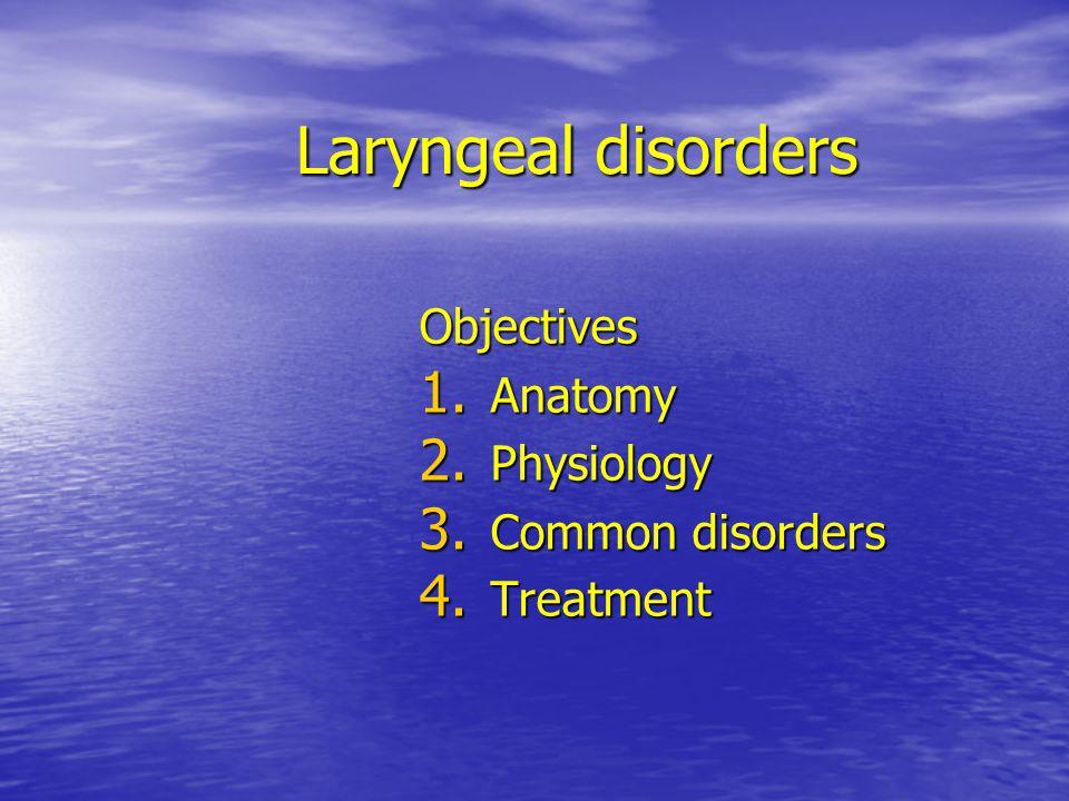 Carcinoma Symptoms> 2-3 weeks - glottis > hoarseness - supraglottis > dysphagia - subglottis > airway problems others- referred otalgia, chronic cough, hemoptysis, lymphadenopathy, wt.