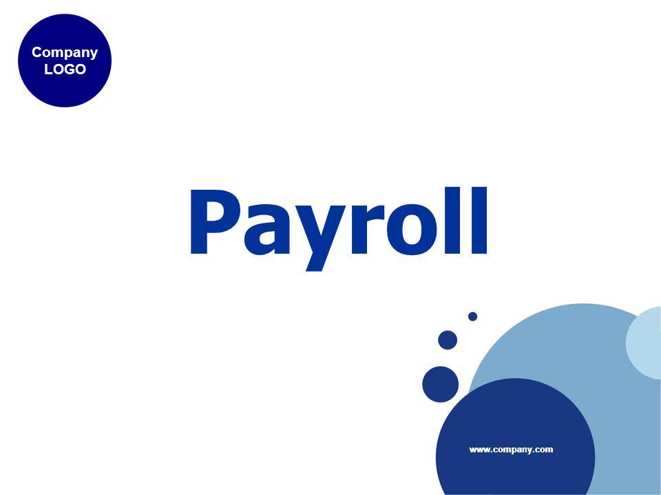 www.company.com Company LOGO www.company.com Payroll