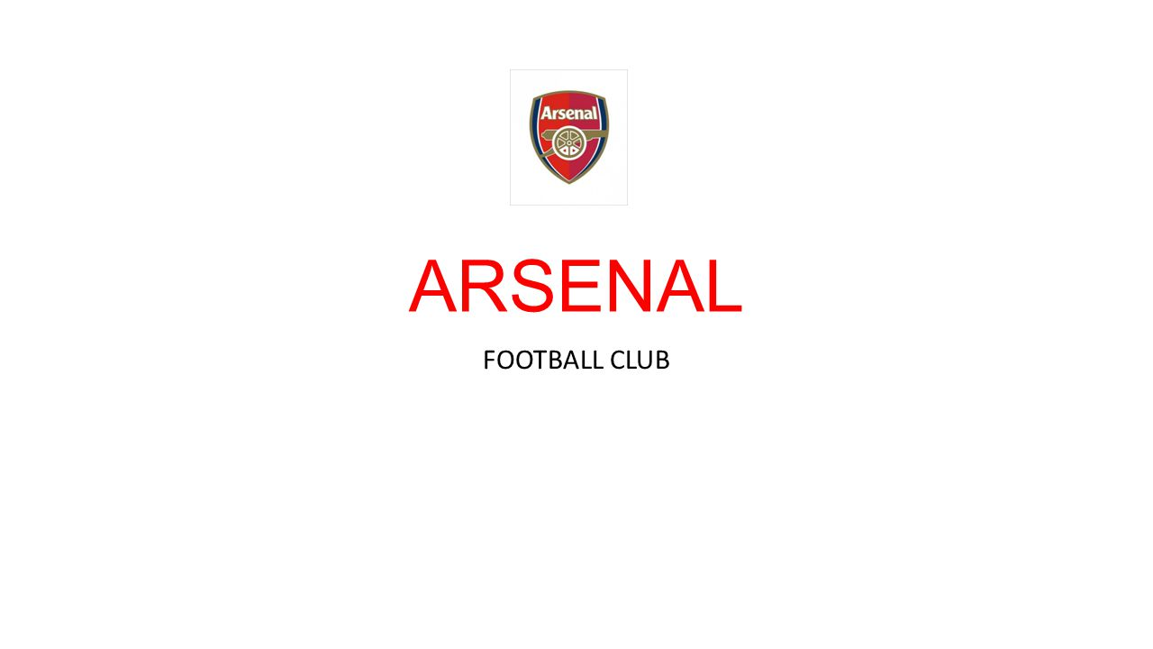 ประวัติโดยย่อ สโมสรฟุตบอลอาร์เซนอล ( อังกฤษ : Arsenal Football Club) เป็นสโมสร ฟุตบอลที่เล่นในพรีเมียร์ลีก จากฮอลโลเวย์ ในลอนดอน เป็นสโมสร ฟุตบอลที่ประสบความสำเร็จมากที่สุดแห่งหนึ่งในฟุตบอลอังกฤษ ครอง แชมป์ดิวิชัน 1 13 ครั้งและเอฟเอคัพ 11 สมัย อาร์เซนอลถือสถิติร่วม โดย อยู่ในลีกสูงสุดของอังกฤษยาวนานที่สุดโดยไม่ตกชั้น และติดอยู่อันดับ 1 ของผลรวมอันดับในลีก ของทั้งศตวรรษที่ 20[2] และเป็นทีมที่ 2 ที่จบการ แข่งขันฤดูกาลในลีกสูงสุดของอังกฤษโดยไม่แพ้ทีมไหน ( ในฤดูกาล 2003–04) เป็นทีมเดียวที่ไม่แพ้ใครทั้ง 38 นัด