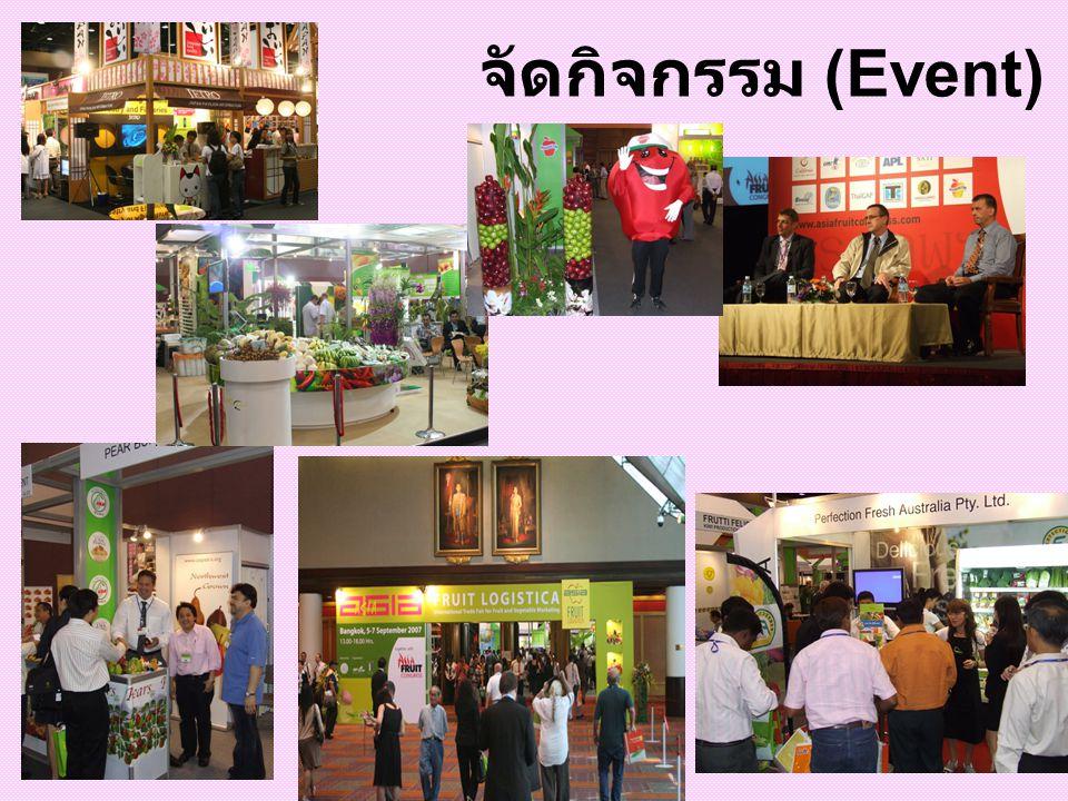จัดกิจกรรม (Event)
