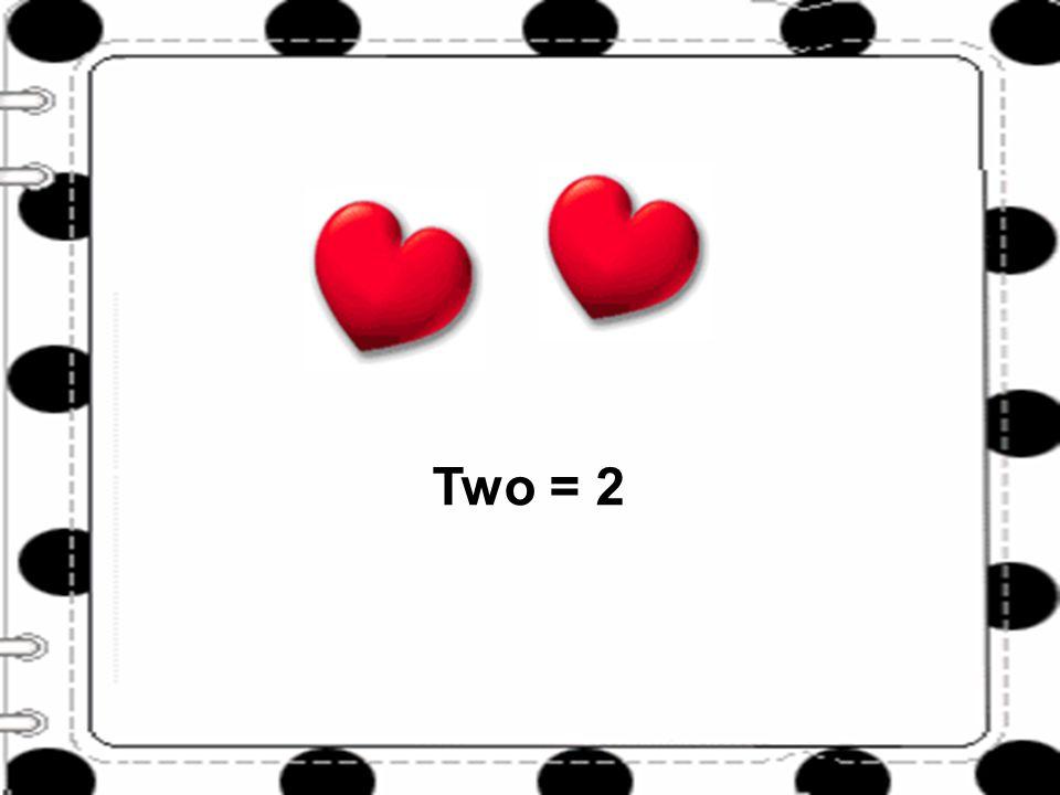 One Three = 3
