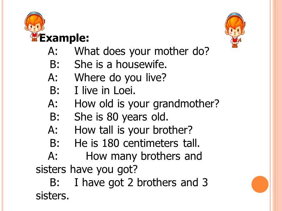 ใบงานที่ 1 Put the word in the right order to ask questions and then write your own answer.