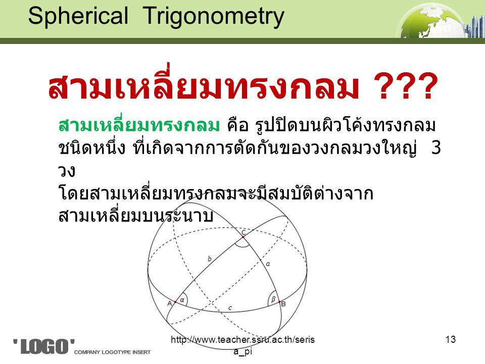 สามเหลี่ยมทรงกลม ??.