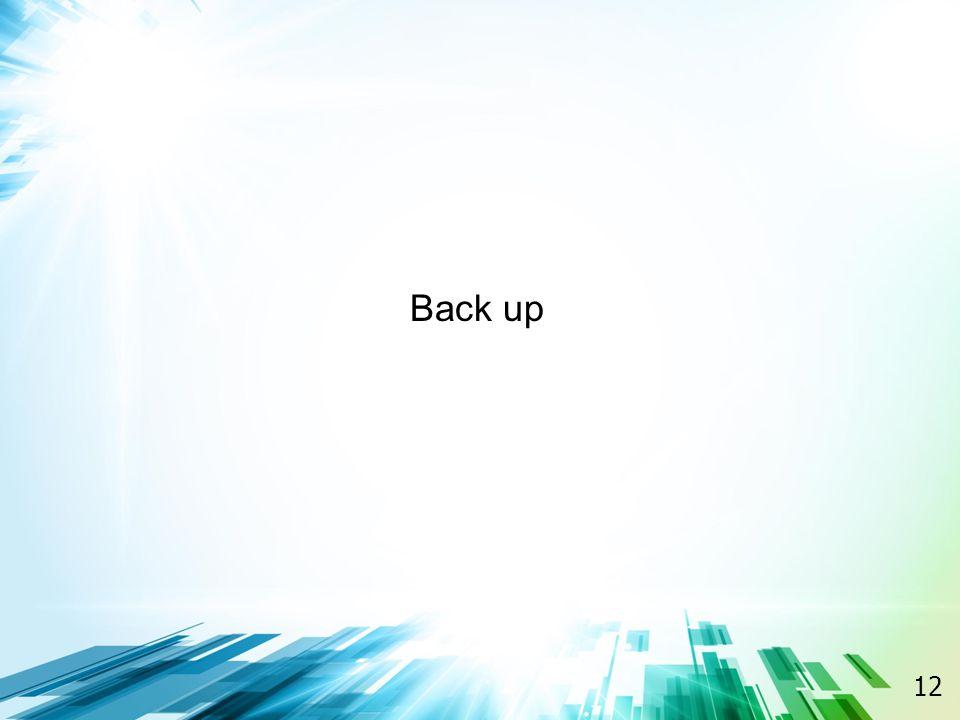 12 Back up