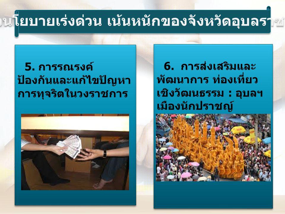 7.การพัฒนาการ เกษตรอย่างยั่งยืน : เกษตรอินทรีย์ 8.