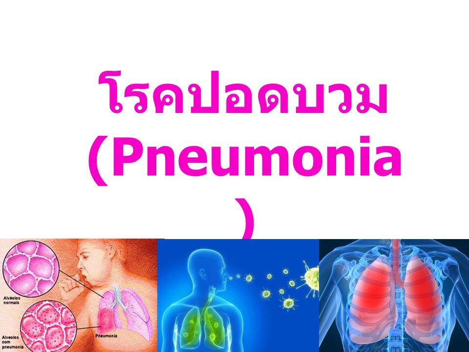 โรคปอดบวม (Pneumonia )