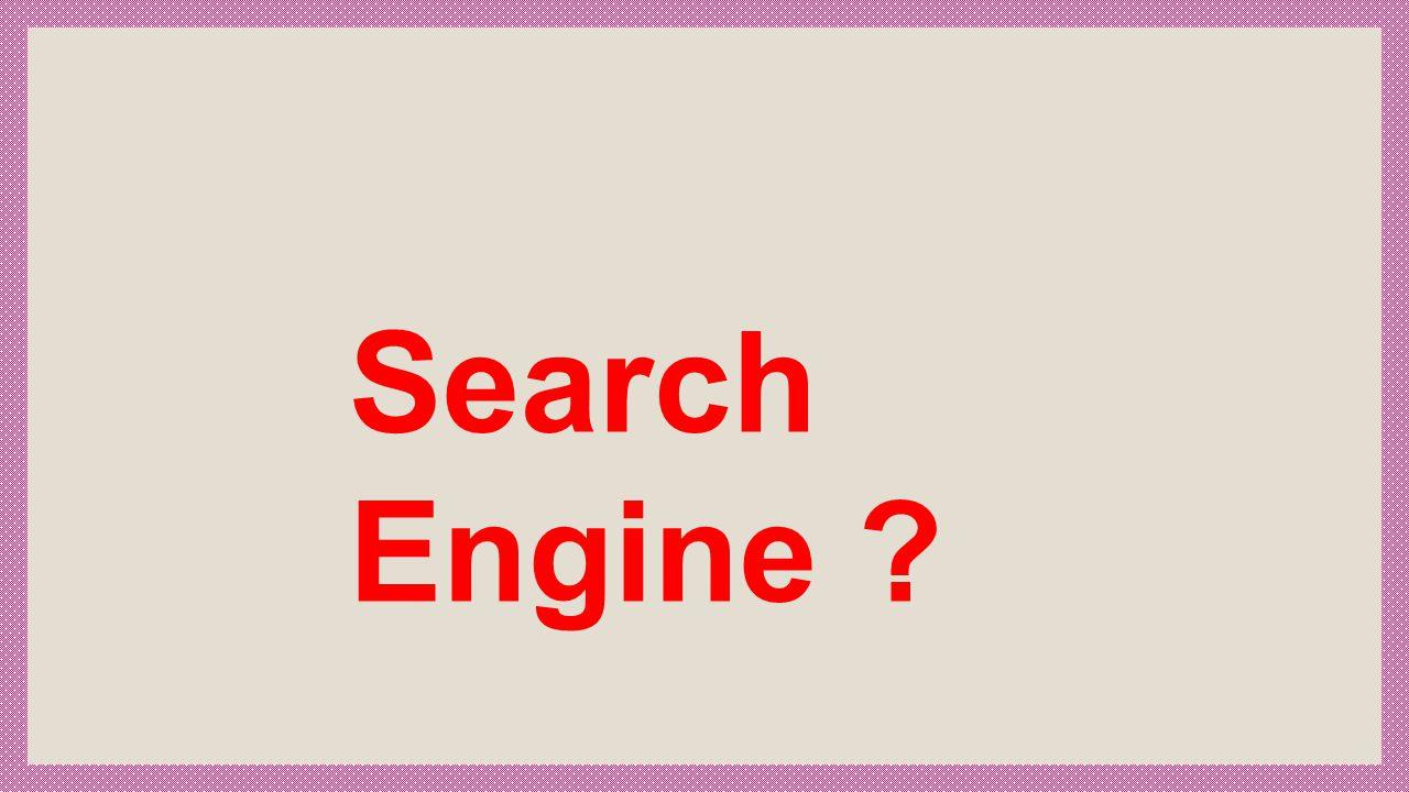 เครื่องมือในการช่วย ค้นหาข้อมูล ทาง Internet Search Engine