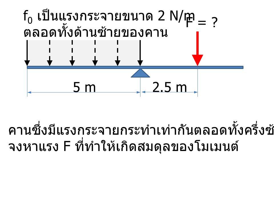 5 m F = .