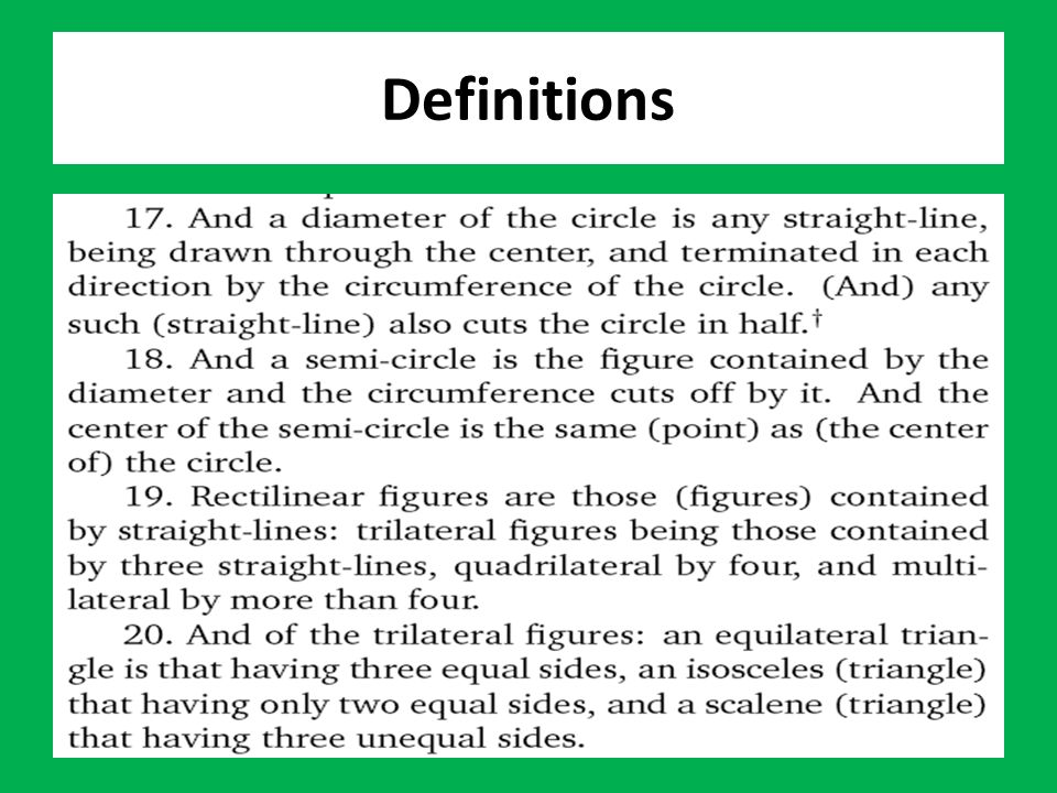 Theorem T-10: To cut a given finite straight-line in half. พิสูจน์
