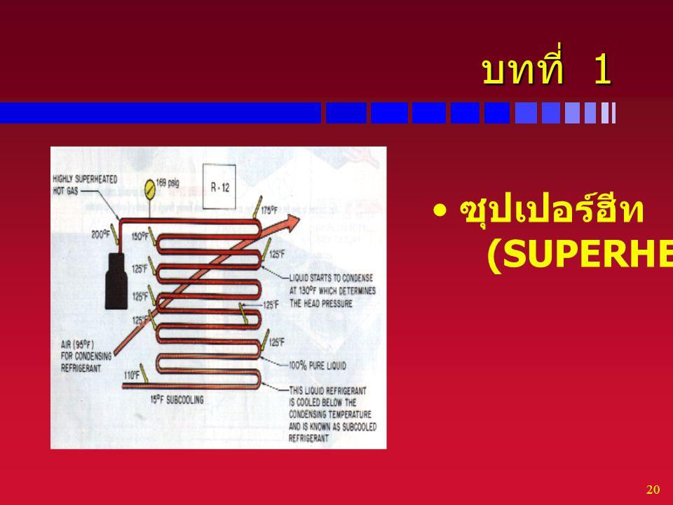 20 บทที่ 1 ซุปเปอร์ฮีท (SUPERHEAT)