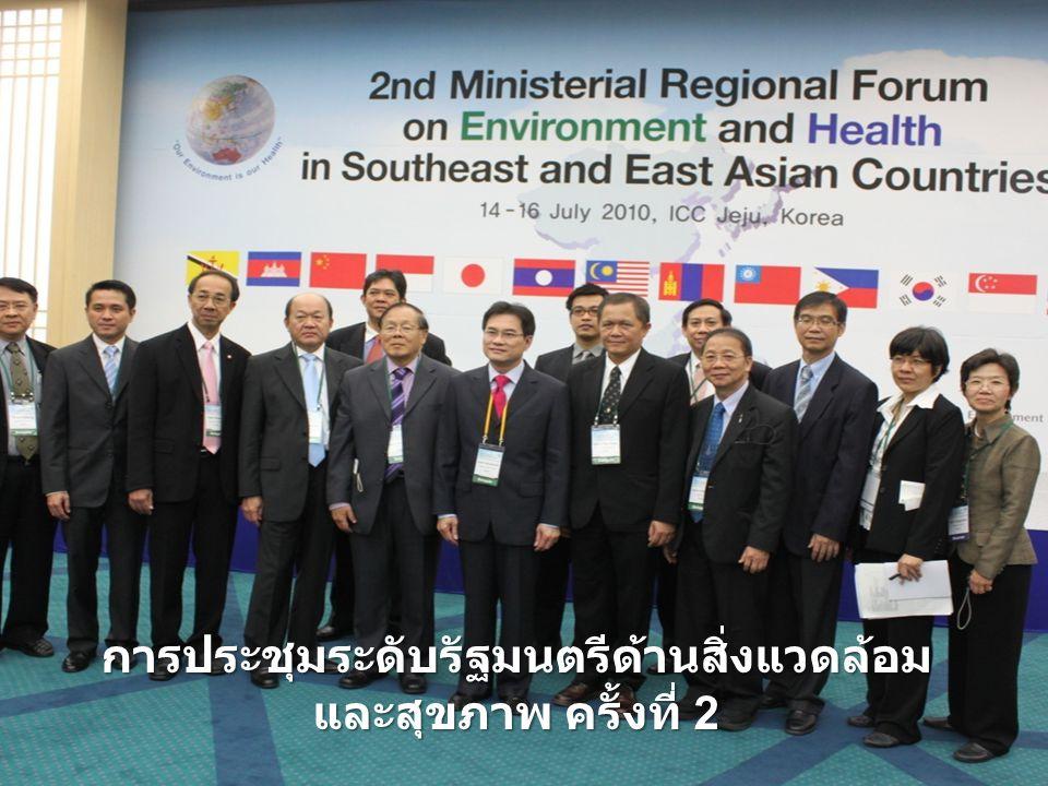 การประชุมระดับรัฐมนตรีด้านสิ่งแวดล้อม และสุขภาพ ครั้งที่ 2