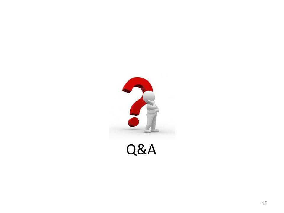 Q&A 12