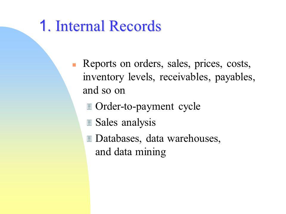 ตัวอย่างรายงานจากระบบข้อมูล ภายใน (1) รายงานการขายเฟอร์นิเจอร์ 6 ปีที่ผ่านมา ปี พ.