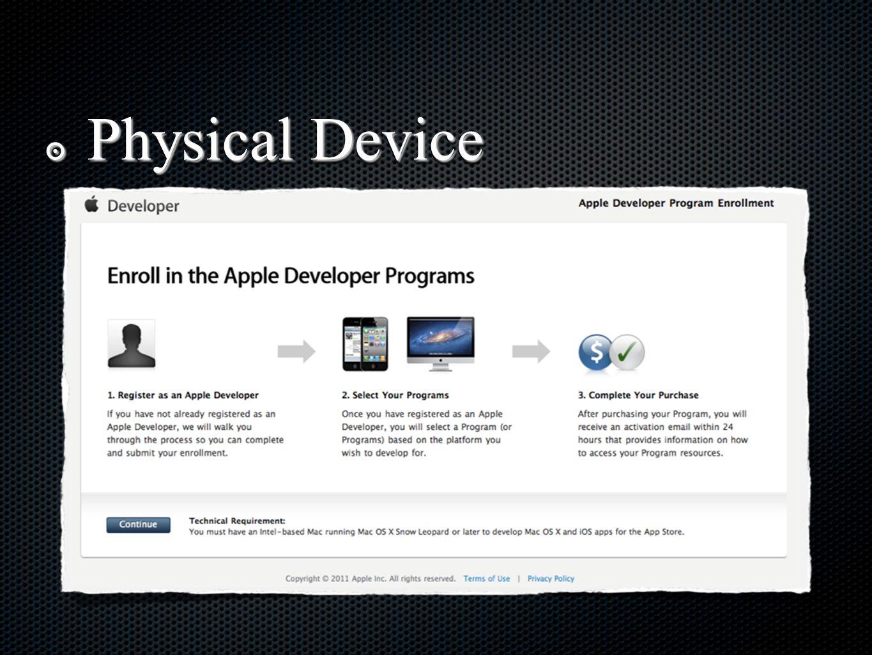 ๏ iOS Developer Program