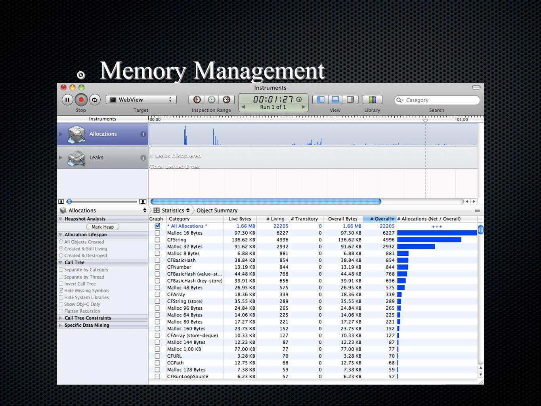 ๏ App Management