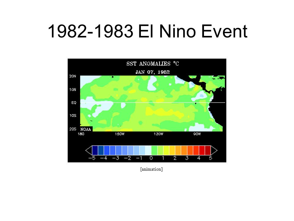1982-1983 El Nino Event [animation]