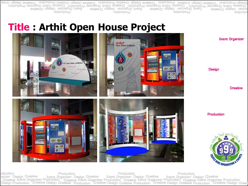 Title : Arthit Open House Project