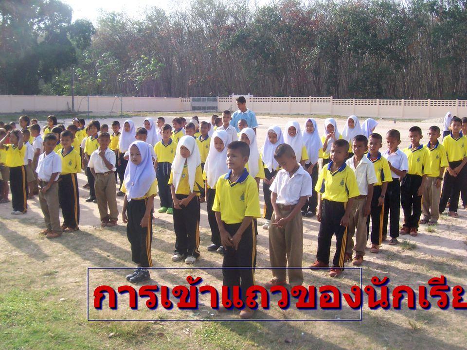 การเข้าแถวของนักเรียนการเข้าแถวของนักเรียน