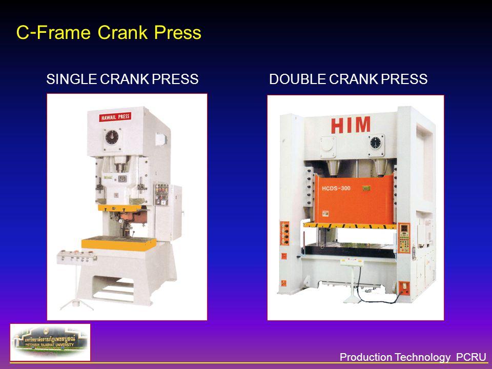 Production Technology PCRU Mechanical Press Mechanical Press Product