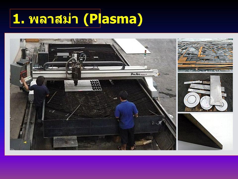 1. พลาสม่า (Plasma)