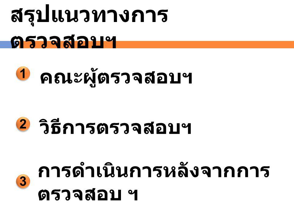 แบบฟอร์ม 3 รายงานผลการ ตรวจสอบ ( ทชจ.)