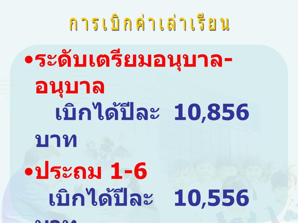 ระดับเตรียมอนุบาล - อนุบาล เบิกได้ปีละ 10, 856 บาท ประถม 1-6 เบิกได้ปีละ 10, 556 บาท ระดับมัธยม 1-3 เบิกได้ปีละ 12,647 บาท